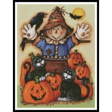 Scarecrow's Halloween Pumpkin Patch - #11369-PFLD