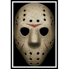 Scary Hockey Mask - #11370