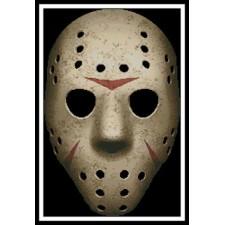 Scary Hockey Mask - #11370
