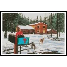 Christmas in Big Bear - #11378-MB