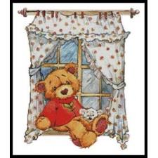 Teddy at Window - #11399-LF