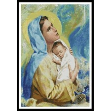 Mary and Baby Jesus - #10043