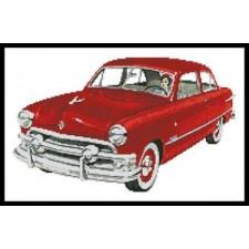 Retro Car - #10116