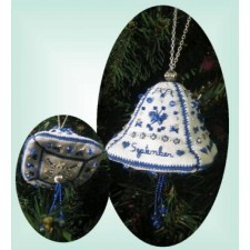 MX706 September Bell Heirloom Ornament