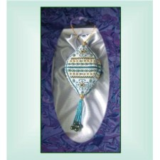 MX600 Royal Teal Heirloom Ornament