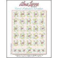 Floral Alphabet Sampler