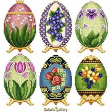 Easter Eggs in Faberge Style - Collection 2