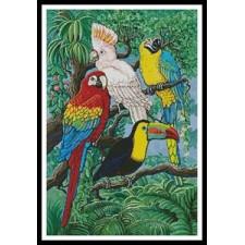 Tropical Birds - #10166-GG