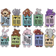 Mini Critter Bookmarks