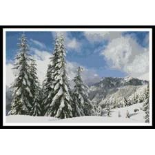 Winter Landscape - #10338