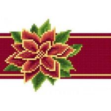 Poinsettia Red Ribbon