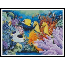 Seahorse and Fish - #10372-MGL