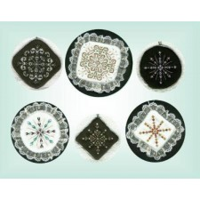 C100 Snowflake Ornaments #1