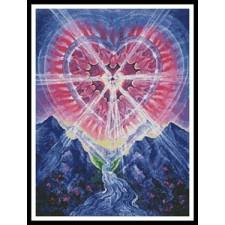 Cosmic Heart - #10386-WA