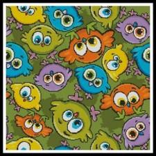 Cartoon Birds Cushion 2 - #10488