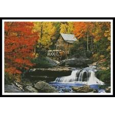 Glade Creek, Grist Mill - #10502