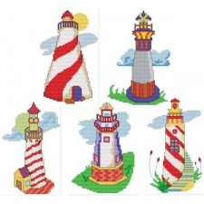Whimsical Lighthouses