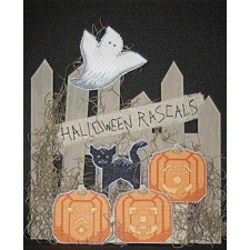 By the Fence: Halloween Rascals