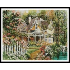 House with Picket Fence - #10675-CYPRS
