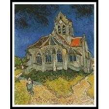 Church at Auvers - #10704