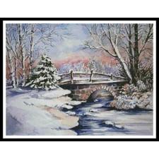 Winter Bridge - #10718-PFLD