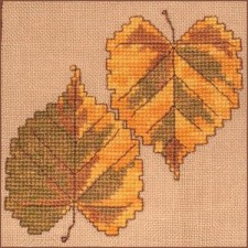 Autumn Leaves Wall Quilt Block A