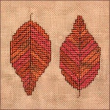 Autumn Leaves Wall Quilt Block B