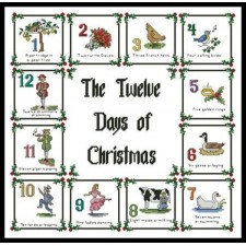 12 Days of Christmas Sampler - #10767