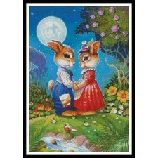 Rabbits in the Moonlight - #10800-MGL