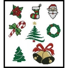 Christmas Motifs - #10826