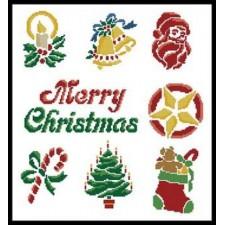 Christmas Motifs 4 - #10829