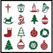 Christmas Motifs 5 - #10830
