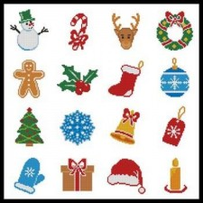 Christmas Motifs 8 - #10832