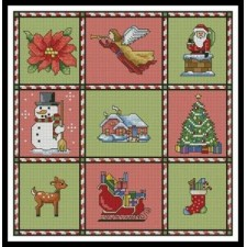 Christmas Sampler - #10835