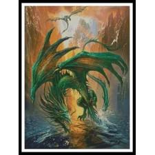 Dragon of the Lake - #10845-MGL