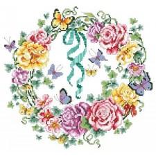 Rose Ivy Wreath