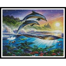 Atlantic Dolphins - #10873-MGL