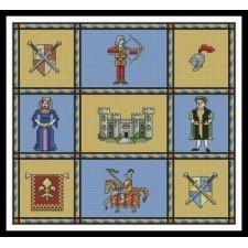 Medieval Sampler - #10903