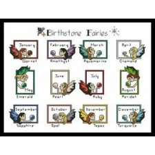 Birthstone Fairies Sampler - #10910