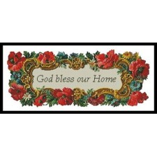 God Bless our Home - #10920