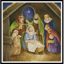 Nativity Painting - #10931-INT