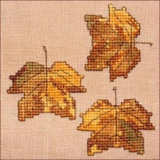 Autumn Leaves Wall Quilt Block G