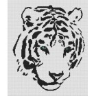 Tribal White Tiger