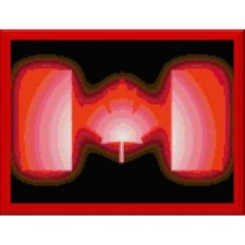 Glowing Canadian Logo