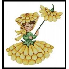Flower Girl 1 - #10952
