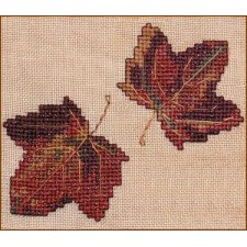 Autumn Leaves Wall Quilt Block H