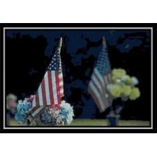 US Grave Flag