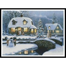 Christmas Cottage - #10999-INT