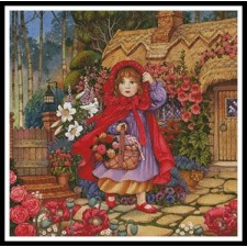 Red Riding Hood Painting - #11005-PFLD