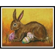 Rabbit with Eggs - #11019